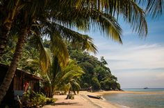 Tioman beach van Patrick Dielesen