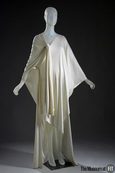 Evening Dress Charles Kleibacker, 1969 The Museum at FIT