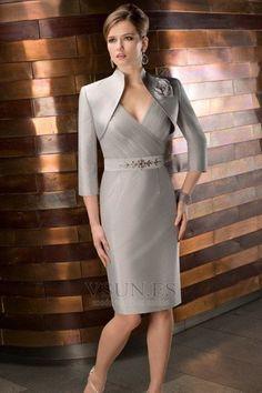 trajes cortos para madrinas de boda - Buscar con Google