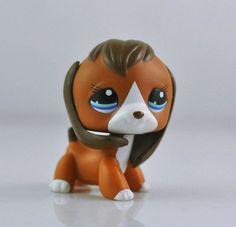 Littles Pet Shop LPS DOG BEAGLE Child Girl Loose Auction Figures Cute  #Hasbro