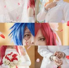Jerza, Fairytail, Fairy Tail Cosplay, Jellal And Erza, Anime Cosplay, Strawberry, Ship, Cake, Color