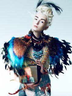 Ladyhawke (Prestige April 2014) by Brendan Zhang, via Behance