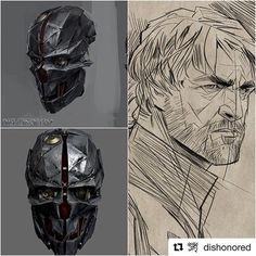 #Repost @dishonored ・・・ The man behind the mask in #Dishonored2. Here's some new looks of an old friend. #TeamCorvo