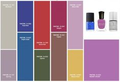 The best nail polishes to match the Pantone 2014 fall colors. Great list!