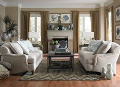 Merveilleux We Love This Pair Melody Sofas. It Looks So Cozy  How Would You Style