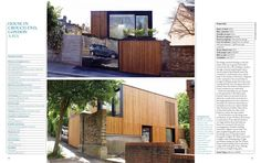 Carefully considered design for a new contemporary house on a small plot in North London