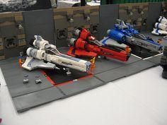 Battlestar Galactica Lego Vipers