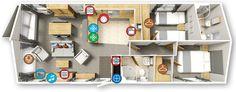 Willerby Portland 2016 40x16 2bed Floor plan