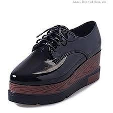 086aeff805bfa Oferta  Dto  Comprar Ofertas de RoseG Zapatos Creepers Cordones Cuña  Plataforma Mujer Negro barato. ¡Mira las ofertas!
