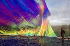 Poetic Cosmos of the Breath art installation by Tomas Saraceno Baroque, Renaissance, Art Nouveau, Gothic, Interactive Art, Glitch Art, Land Art, Installation Art, Art Installations