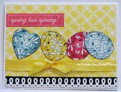 Prickley Pear Rubber Stamps:  Dragonfly Heart, Rosebud & Dragonfly Egg