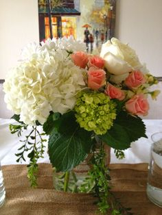 Romantic Centerpiece Arrangement How to.