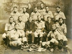 COLLEGE BASEBALL: Amherst College baseball team (1902) - Vintage Sports Pictures