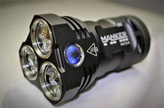"The Manker MK34 is an 8000 lumen flashlight! --- But, is LESS than 4"" long! See it at http://lightsngear.com/manker-mk34-8000-lumen-led-flashlight/"