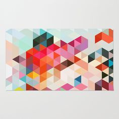 Heavy words 01. Area & Throw Rug by Three Of The Possessed - $28.00