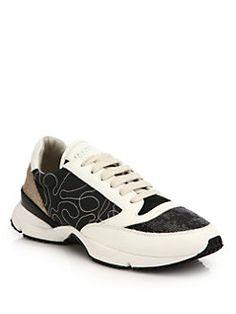 Brunello Cucinelli - Monili & Glitter Trainer Sneakers