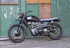1965 Triumph TR6 SR Desert Scrambler by Pacific Motorcycle Co