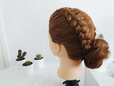 Hairstyle step by step tutorial