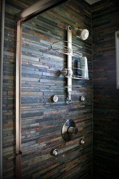 Egal ob an der Wand, oder als Fußboden, Schiefer ist überall ein Blickfang. Er ist aber nicht nur in Bad einsetzbar, auch Flur, Treppen, Terrassen und Küchen werden optisch aufgewertet.  http://www.schiefer-deutschland.com/schiefer-fliesen-rustikale-schiefer-fliesen