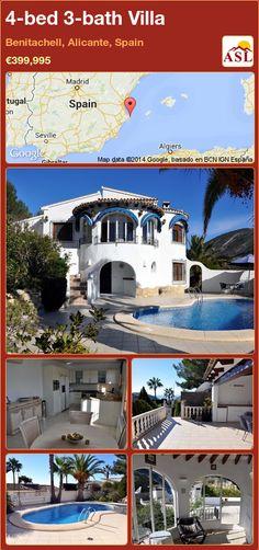 4-bed 3-bath Villa in Benitachell, Alicante, Spain ►€399,995 #PropertyForSaleInSpain