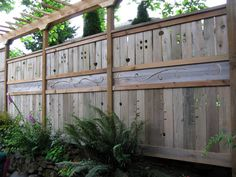 Yard Fence Ideas | Scroll down to see it all, including some before-after comparisons).