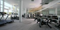Forget a gym membership. Our fitness center is bright, airy, and filled with top of the line equipment for both cardio and weight training routines.