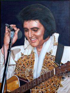 Elvis Art Door Rob de Vries www.elvis-art.com