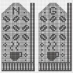 Knitted Mittens Pattern, Knitted Gloves, Knitting Socks, Fall Knitting, Fair Isle Knitting, Knitting Charts, Knitting Patterns, Fair Isle Chart, Mittens