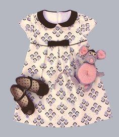 """GIRLS DRESS PATTERN, The """"Mia and Moi"""" Pattern, little girl's dress pattern or girl's blouse pattern, sewing pattern, sized to fit ages Little Girl Dress Patterns, Toddler Dress Patterns, Sewing Patterns Girls, Little Girl Dresses, Girls Dresses, Baby Dresses, Dress Girl, Children's Dress Patterns, Kate Dress"""