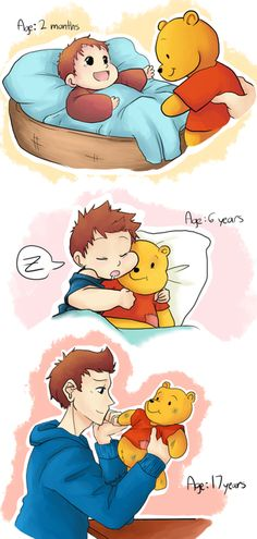 superfamily | tags superfamily peter parker winnie the pooh art via crazyk c source ...
