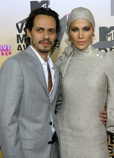 Pin for Later: A Sweet, Somewhat Hilarious History of Celebrity Couples at the MTV VMAs Jennifer Lopez and Marc Anthony, 2006