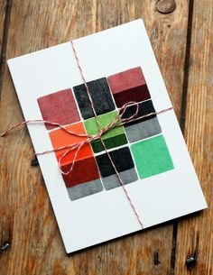 francesca iannaccone - blocks + boxes postcards