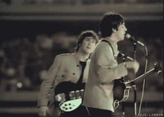 "Paul,"" Hello people, I Love John!""John,""Wait"