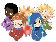 South Park Anime, South Park Fanart, Otp, Old Married Couple, Funny Anime Pics, Cartoon Movies, Art Sketches, Animation, Fan Art