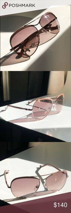 LIU•JO woman sunglasses Excellent condition pair of sunglasses. I provide an aftermarket black case as well as sunglasses microfiber soft pouch case. Sunglasses are beautiful, light color to go with everything.  Condition 10/10 Liu Jo Accessories Sunglasses