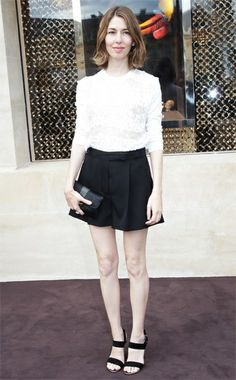 Sofia Coppola, Louis Vuitton. Best Dressed: Fall 2012 Couture