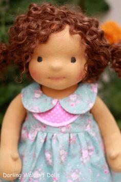 Waldorf doll Niki 18 Gifts for Children Toddlers by Faridulka