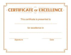 Free Downloadable Pdf Certificates  Awards  TeachnetCom  End
