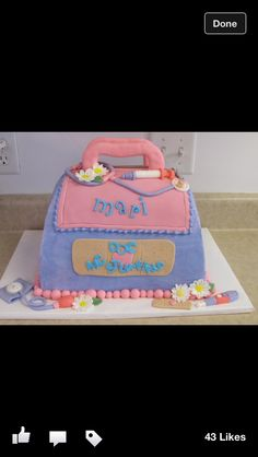 doc mcstuffins cake from West Point Cake Art