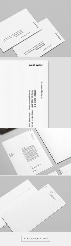 RYOKO IWASE Branding on Behance - created via https://pinthemall.net