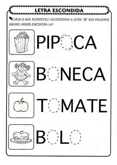 atividade pre-escolar - Pesquisa Google