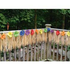 Amazon.com: Luau Deck Party Fringe - Decorate your Garden Decking Area: Toys & Games