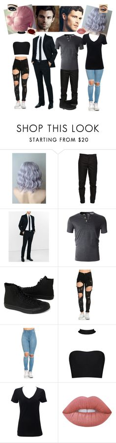 """""""Fotoshoting vor The Originals 😍"""" by tany-buny ❤ liked on Polyvore featuring Maison Margiela, Express, Converse, Disney, Simplex Apparel and Lime Crime"""