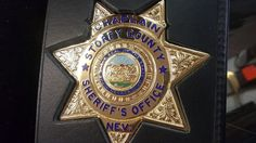 Law Enforcement Badges, Police Badges, Sheriff Office, Thin Blue Lines, Esquire, Nevada, Patches, Fire, Display