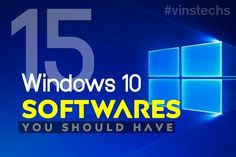 While opening my PC, I always afraid of the lack of useful software that I need. Sometimes, my system gets struck on with extreme load and connectivity problems. Of course, you too face the same t… Windows 10 Hacks, Best Windows, Computer Diy, Computer Technology, Computer Basics, Computer Laptop, Wearable Technology, Computer Programming, Windows Software