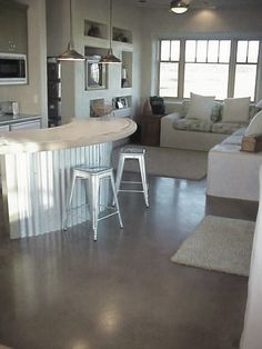 Cement Floor Finishing Ideas | Floor Ideas and how to add a decorative concrete floor finish Concrete ...