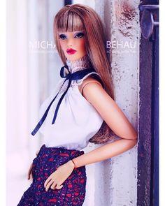 @integrity_toys FR16 Illusive Pants: SHANTOMMO Couture @shantommo Blouse : Elenpriv @elenaperedreeva #toys #toyphotography #shabbychic #dollphotogallery #dolls #white #portrait #makeup #style #vogue #stylish #fashion #sleek #art #redlips #instadaily #instagood #light #portraitphotography #artphotography #instaartist #toystagram #instalike #glam #barbie #instamoments @sonyalpha