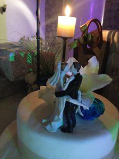 Pastel de boda con nuestro toque
