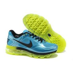 new product bbc1f 23429 Nike Air Max 2013 Men Sky Blue Black Green Shoes The Air Trainer Max Breathe  Sneakers by Nike Features    Mesh Exterior   Low top design   Rubber  outsole ...