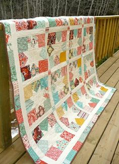 Need to make this star quilt soon....